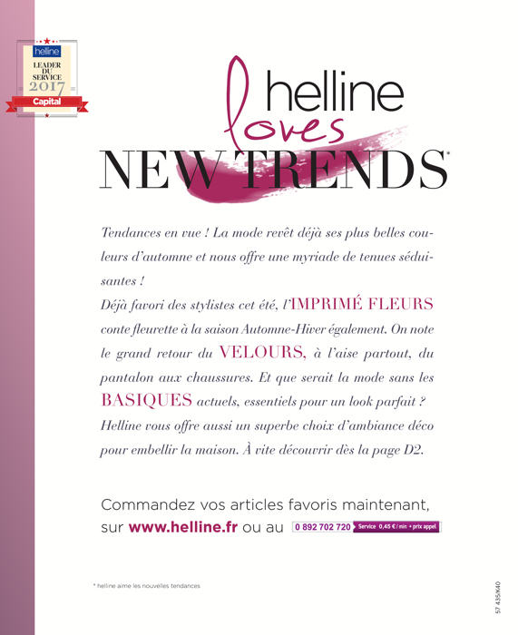 Catalogue Helline. Tendance Chic Et Glamour By Helline With