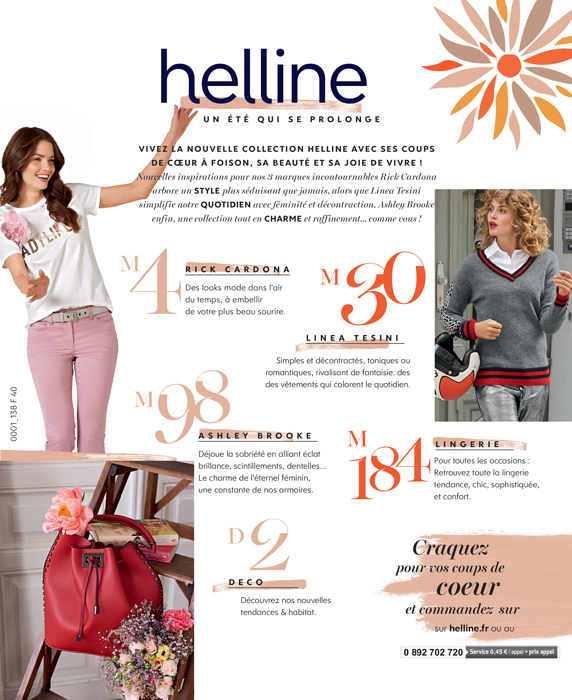 helline catalogue en ligne soldes amazing helline. Black Bedroom Furniture Sets. Home Design Ideas